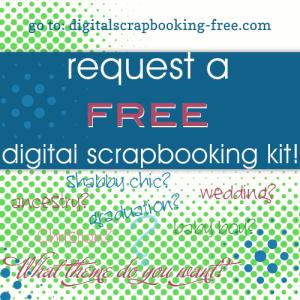 Free Full Digital Scrapbook Kit